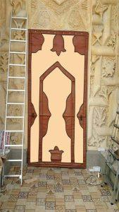 Branda Cami Kapısı