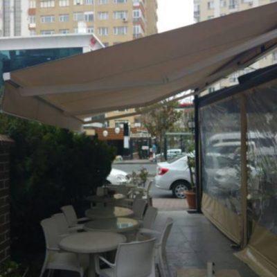 Mecidiyeköy Bulvar Pastanesi Mafsallı Tente