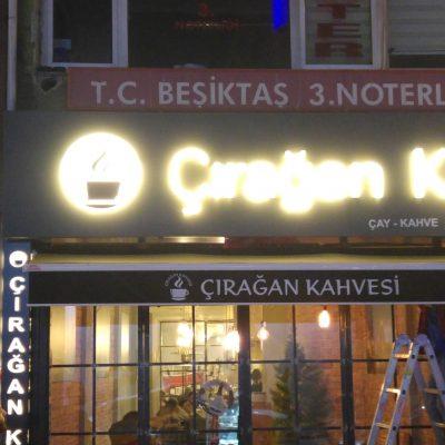 Beşiktaş Çırağan Kahvesi Mafsallı Tente