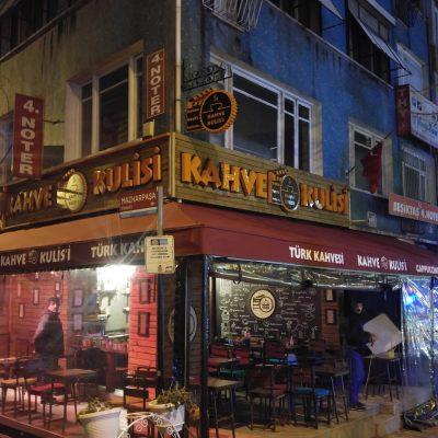 Beşiktaş Kahve Kulisi Sabit Tente Ve Kış Bahçesi