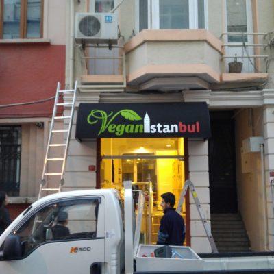 Beyoğlu Vegan İstanbul Sabit Bombeli Tente